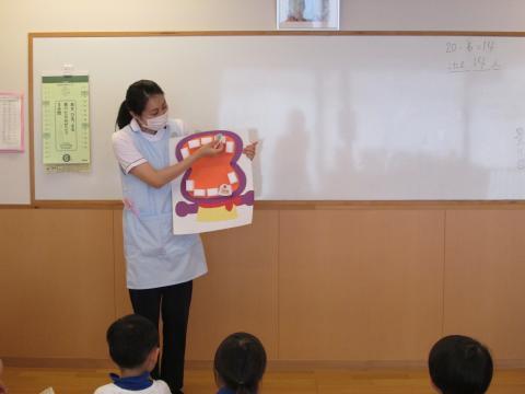保育園 歯磨き 指導
